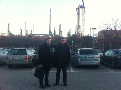 У једној од највећих рафинерија нафте у Европи 'Preem'